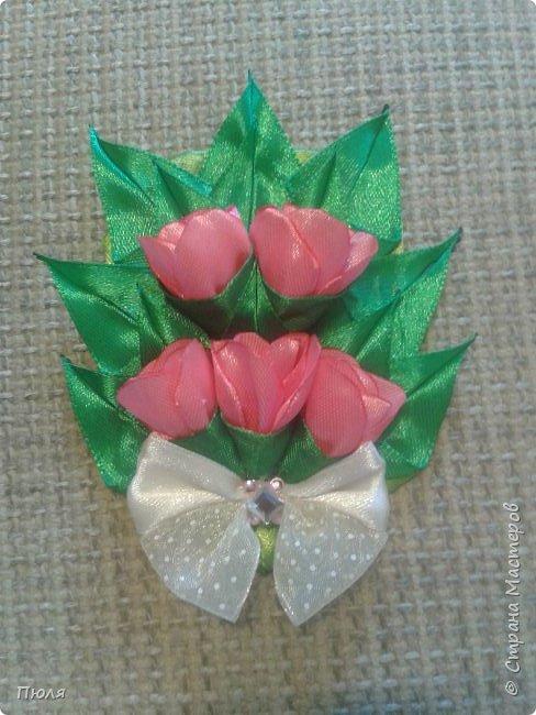 Доброго времени суток уважаемые жители СМ! Наконец то я доделала букетики тюльпанов, делала по МК: http://www.stranamam.ru/post/9181302/  и http://stranamasterov.ru/node/1018100 .  Вот  уж и 8 марта прошло давно, но цветы приятнее дарить просто так от души и без повода, поэтому принимайте мои букетики. Сделать выбор приглашаю моих кредиторов.  фото 7