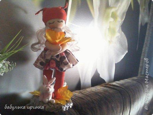Здравствуйте! Решила попробовать сотворить куклу по мотивам Сьюзен Вулкотт ! Вот что получилось. фото 2