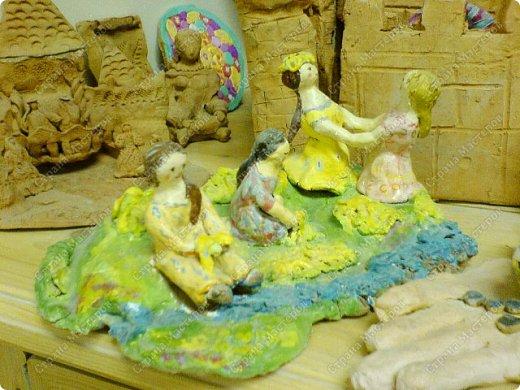 Интересный природный материал - глина! Такую красоту можно из глины делать!   фото 13