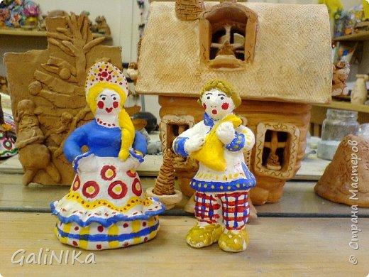 Интересный природный материал - глина! Такую красоту можно из глины делать!   фото 24