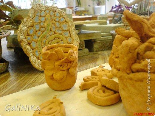 Интересный природный материал - глина! Такую красоту можно из глины делать!   фото 4