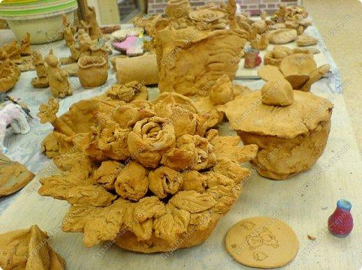 Интересный природный материал - глина! Такую красоту можно из глины делать!   фото 5