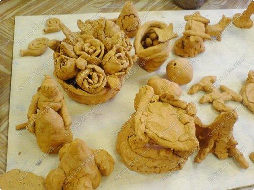Интересный природный материал - глина! Такую красоту можно из глины делать!   фото 6