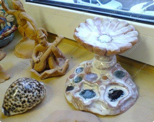 Интересный природный материал - глина! Такую красоту можно из глины делать!   фото 9