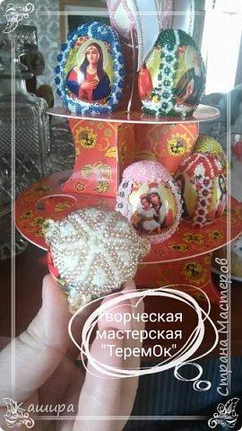 Доброго времени суток! Вот такие сувенирные яйца были сделаны к Пасхе. фото 7