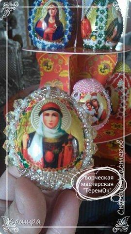Доброго времени суток! Вот такие сувенирные яйца были сделаны к Пасхе. фото 5