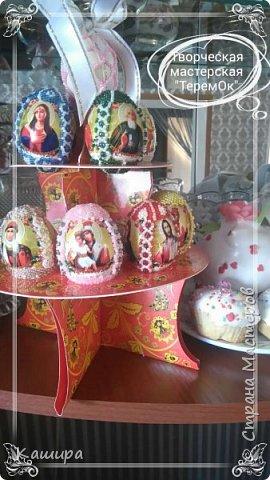 Доброго времени суток! Вот такие сувенирные яйца были сделаны к Пасхе. фото 1