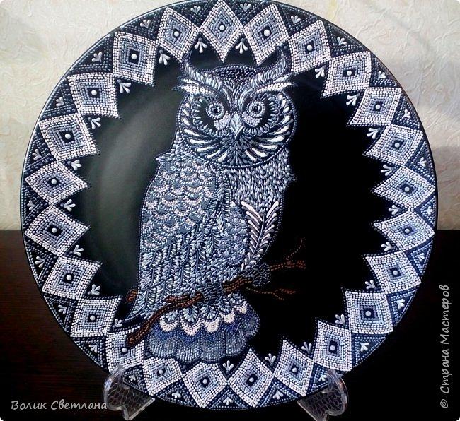 Здравствуйте, дорогие мастера! Вот новые тарелочки - птичьи. фото 3