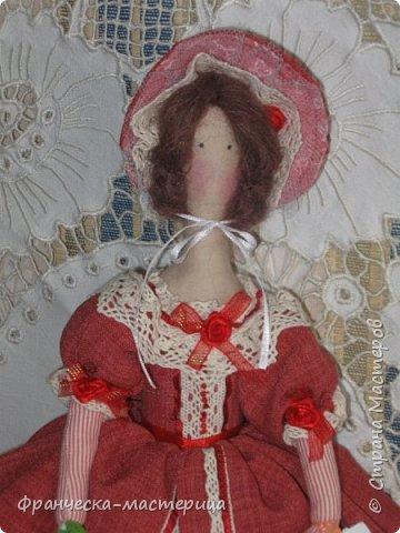 """Здравствуй, моя Страна!!! В преддверии """" Бажовского Фестиваля """" я пошила немного кукол в народной теме. Так родились на свет льняные куклы """"Садко  и Настасья"""". Рост кукол 35см., вся одежда снимается, выкройка моя. фото 7"""