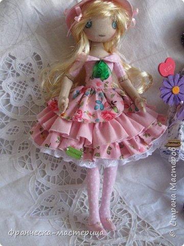 """Здравствуй, моя Страна!!! В преддверии """" Бажовского Фестиваля """" я пошила немного кукол в народной теме. Так родились на свет льняные куклы """"Садко  и Настасья"""". Рост кукол 35см., вся одежда снимается, выкройка моя. фото 8"""