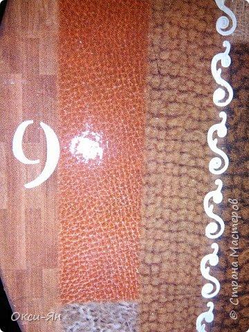Доброго вечера всем!Племянница мне заказала часы без фигурок,без символов в стиле Родченко.Хочу сказать,что вначале я решила просто распечатать его картину и готово.Но после дооооооолгих раздумий и душевного непокоя сотворила вот что.Сегодня нечем хвалиться,а просто хочу поделится. фото 2