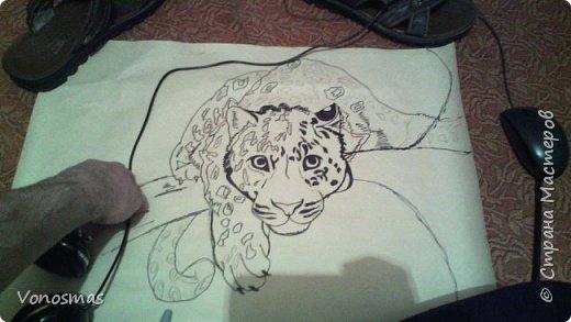 Всем привет. на ваш суд леопард из шпагата, кому интересно есть немного пошаговых фото. спасибо  что нашли время заглянуть фото 2