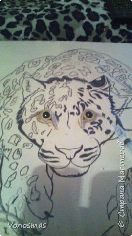 Всем привет. на ваш суд леопард из шпагата, кому интересно есть немного пошаговых фото. спасибо  что нашли время заглянуть фото 3