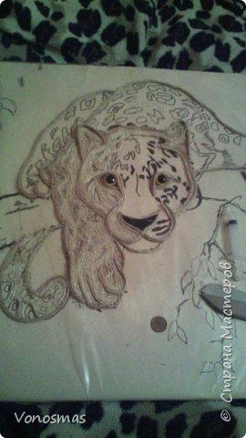 Всем привет. на ваш суд леопард из шпагата, кому интересно есть немного пошаговых фото. спасибо  что нашли время заглянуть фото 6