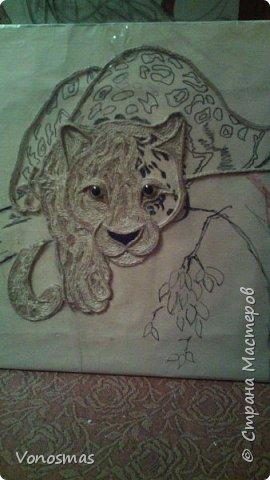 Всем привет. на ваш суд леопард из шпагата, кому интересно есть немного пошаговых фото. спасибо  что нашли время заглянуть фото 7