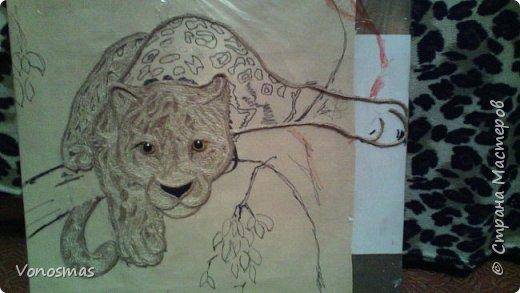 Всем привет. на ваш суд леопард из шпагата, кому интересно есть немного пошаговых фото. спасибо  что нашли время заглянуть фото 9