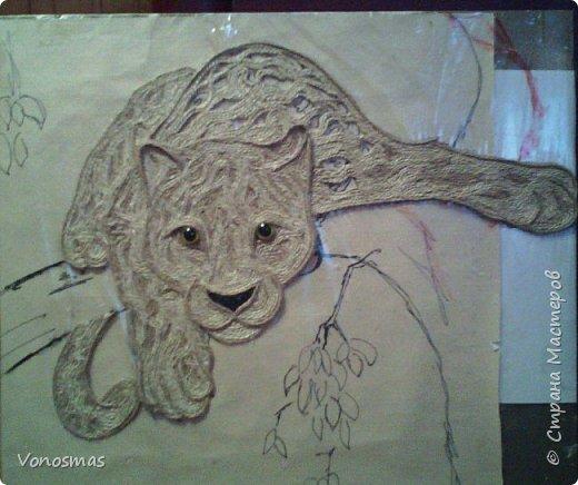 Всем привет. на ваш суд леопард из шпагата, кому интересно есть немного пошаговых фото. спасибо  что нашли время заглянуть фото 10