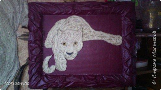 Всем привет. на ваш суд леопард из шпагата, кому интересно есть немного пошаговых фото. спасибо  что нашли время заглянуть фото 13