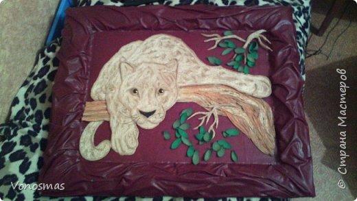 Всем привет. на ваш суд леопард из шпагата, кому интересно есть немного пошаговых фото. спасибо  что нашли время заглянуть фото 19