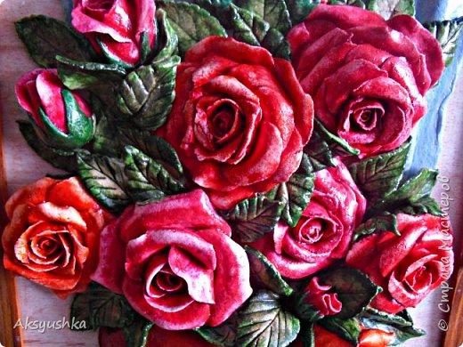 """Панно """"Розы"""" - юбилейный подарок. фото 5"""