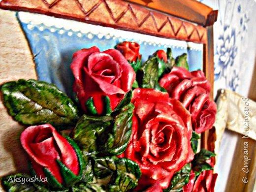"""Панно """"Розы"""" - юбилейный подарок. фото 4"""
