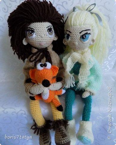 Всем привет! Хочу показать своих кукол фото 3