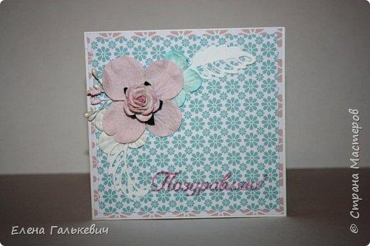"""Весенние открытки из бумаги """"Элегантно и просто"""" от ScrapBerry's фото 10"""