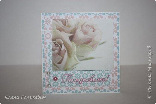 """Весенние открытки из бумаги """"Элегантно и просто"""" от ScrapBerry's фото 12"""