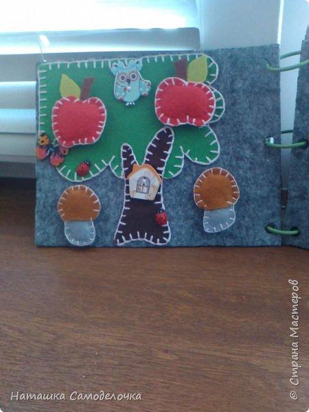 Всем привет,давно я хотела сделать книжечку из фетра,но как то некому было,и вот в мае родится мальчик Саша и эта книжечка поедет в Краснодарский край,в подарок,приятного просмотра! фото 3
