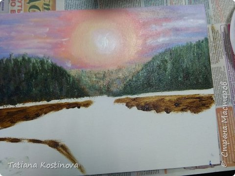 Картины Рассвет - Закат фото 2