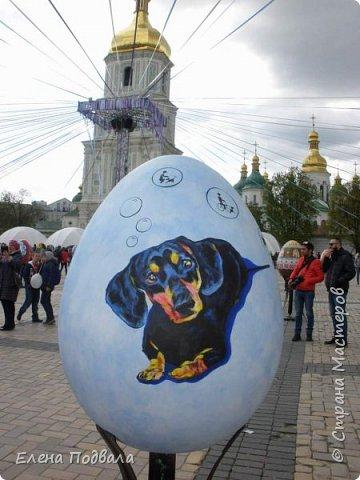 Дорогие друзья! Наконец-то я сегодня выбралась на Софиевскую площадь в Киеве, где на Пасхальные праздники расположена шикарная выставка писанок! Мне очень стыдно, что рядом живу, а вот сподобилась только сегодня, в воскресенье... Вот, постараюсь и вам передать мой восторг! фото 22