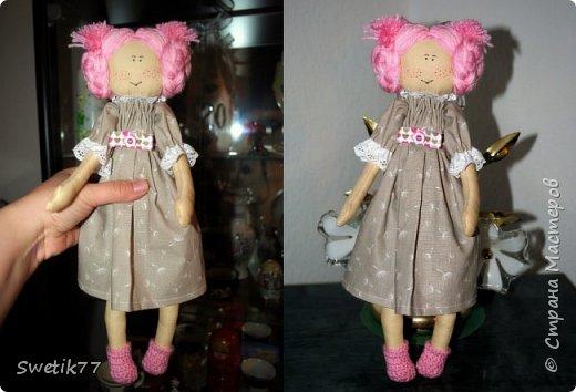 Всем привет!!! Вот такую кукляшку сшила дочке подруги на её 2 годика...