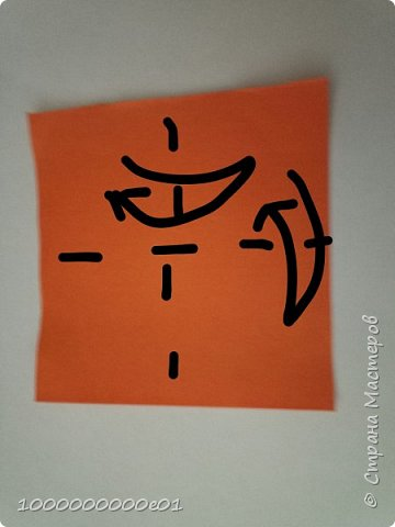 Вам понадобятся 2 листа бумаги (один - для корпуса, другой - для паруса) и ножницы. фото 17