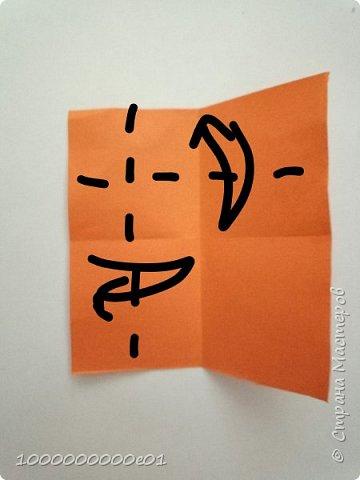Вам понадобятся 2 листа бумаги (один - для корпуса, другой - для паруса) и ножницы. фото 18