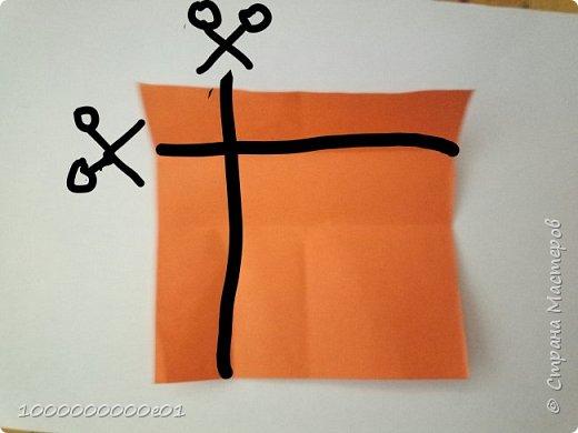 Вам понадобятся 2 листа бумаги (один - для корпуса, другой - для паруса) и ножницы. фото 19