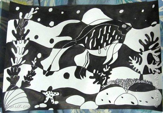 1. Рисунок Тюльпаны по мастер-классу  Helga 2013 https://stranamasterov.ru/node/890841.  фото 3