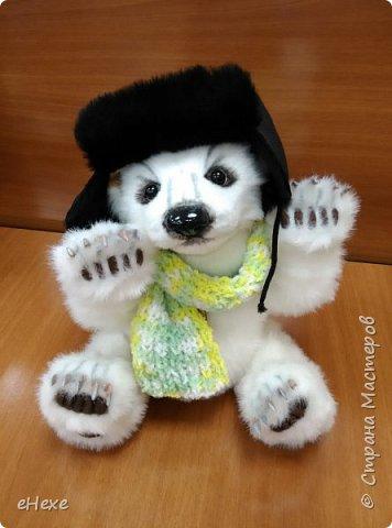 Медвежонок выполнен по выкройке Джеммы Кадж фото 1