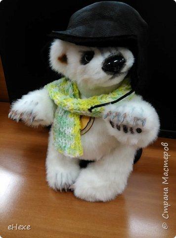 Медвежонок выполнен по выкройке Джеммы Кадж фото 7