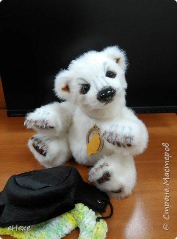 Медвежонок выполнен по выкройке Джеммы Кадж фото 4