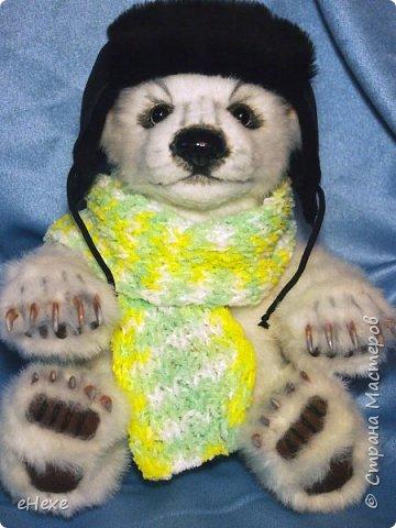 Медвежонок выполнен по выкройке Джеммы Кадж фото 3