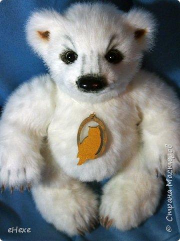 Медвежонок выполнен по выкройке Джеммы Кадж фото 6