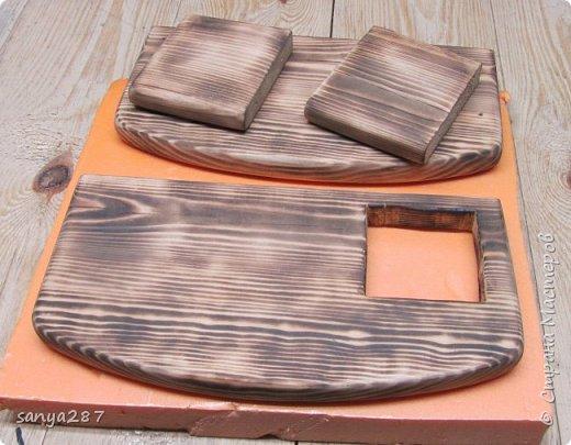Прикроватная полочка для зарядки гаэжетов фото 5
