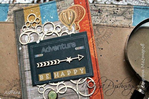"""Привет друзья!Хочу показать вам открытку """"BE HAPPY"""" фото 2"""