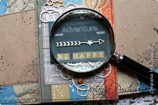 """Привет друзья!Хочу показать вам открытку """"BE HAPPY"""" фото 3"""