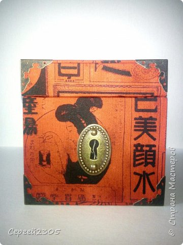 Моя первая квадратная коробочка с фурнитурой. фото 4