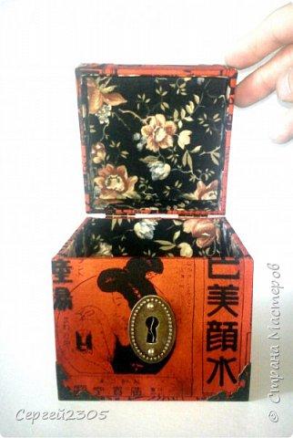 Моя первая квадратная коробочка с фурнитурой. фото 3