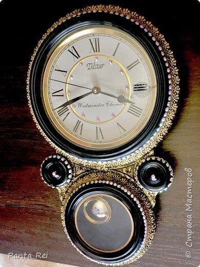 Декор настенных часов фото 1