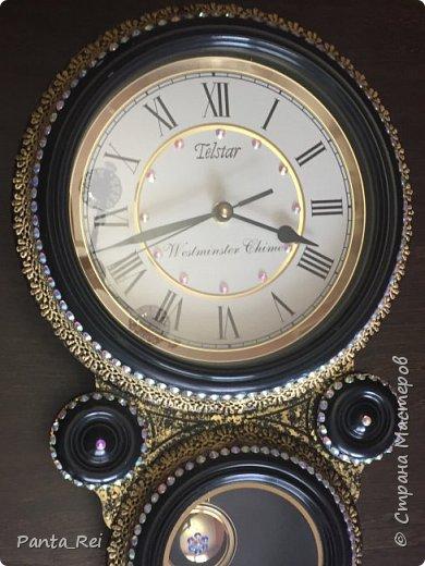 Декор настенных часов фото 2