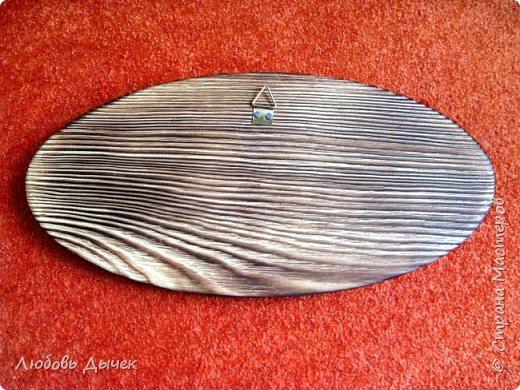 Всем доброго времени суток. Моя очередная работа выполнена на брашированной поверхности дерева. Размер деревянной заготовки 25х12 см. Для работы использована распечатка на лазерном принтере,акриловые краски, акриловый глянцевый лак. фото 9