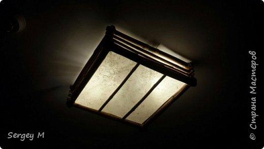 Потолочный светильник фото 2